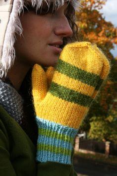Prayer mittens...