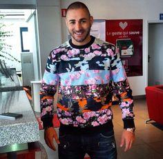 French Player Karim Benzema
