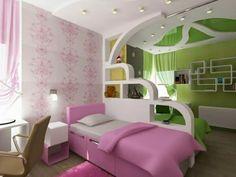 Diseños de cuartos para dos niños