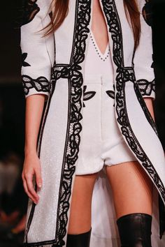 Givenchy Spring 2015 RTW – Runway – Vogue #style #beautyinthebag #fashion Love love love the jacket
