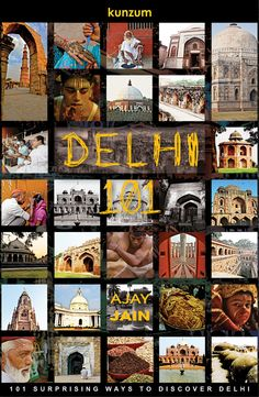 Delhi is one of the most fascinating cities in the world for travelers offering history, culture, food, shopping and more. 'Delhi 101' covers 101 surprising ways to cover the city. For more on the book, visit http://kunzum.com/delhi101. For more travel images and stories, visit us on http://kunzum.com. And join us in our travels at Club Kunzum - http://kunzum.com/club. And do drop in for a coffee at the Kunzum Travel Café - http://kunzum.com/travelcafe.