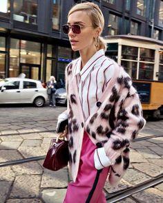 Estilo de rua na Milan Fashion Week outono-inverno de 2019 - street style inspiration - Tokyo Street Fashion, Fashion 2020, Milan Fashion, Look Fashion, Winter Fashion, Fashion Outfits, Fashion Trends, Spring Fashion, Fashion Ideas