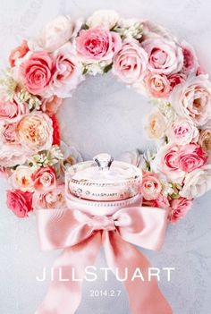 Pretty Flower Wreath! Jill Stuart 2014,  HT