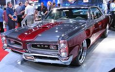 I saw this car in person at the Sema show, Hot Wheels made a toy replica of it- 1966 Pontiac GTO