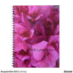 Bougainvillea full notebook