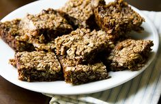 Chocolate Hazelnut Granola Bars – Naturally Sweetened