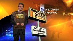 From around March The weatherman at KTLA misses Naugles. Food Pics, Food Pictures, Restaurants, March, Sayings, Lyrics, Restaurant, Word Of Wisdom, Quotes