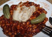 Pečené fazole Czech Recipes, Quinoa, Grains, Pork, Veggies, Rice, Chicken, Meat, Baking