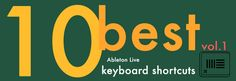 best ableton live shortcuts  using shortcuts while performing repetitive tasks in software can save you  up to 60 hours per year according to some estimates. ableton is no  exception - that's more time you can spend on your productions or buying  groceries or whatever. so let's review some of the top shortcuts for  ableton live!  many of these you may (should) already be duly familiar with but there are  a few that can escape even a seasoned producer. definitely have a look and  let...