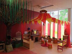 Zirkus Im Kindergarten Gruppenraumgestaltung Cirkusz Pinterest