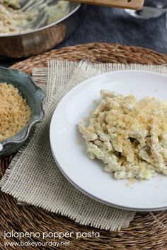 Jalapeno Popper Pasta with Brown Butter Breadcrumbs