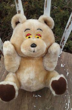 Madison Bear _Vintage Beige Tan Teddy Bear plush Stuffed