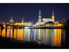 Dresden an Night – by ©ISO_1600