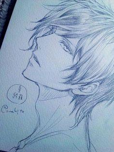 埋 め 込 み guy drawing, anime drawings sketches, cartoon sketches, cute drawin Anime Drawings Sketches, Cartoon Sketches, Pencil Art Drawings, Anime Sketch, Cute Drawings, Boy Drawing, Manga Drawing, Pelo Anime, Anime Guys Shirtless