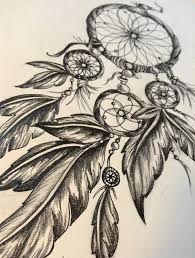 Αποτέλεσμα εικόνας για dreamcatcher tattoos with birds drawings