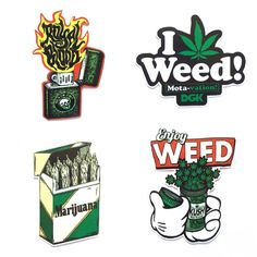 Stickers and Decals weed Cool Car Stickers, Weed Stickers, Marijuana Art, Cannabis Oil, Medical Marijuana, Drugs Art, Dibujos Tattoo, Stoner Art, Weed Art