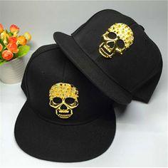 metal gold brand Alumni kid ink fashion south side caps snapback hat New  brand hip hop baseball caps Adjustable flat-brim cap 1da13cd966df