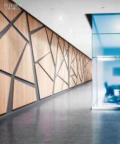 Interior Design HiP Awards Architecture Building Products Winner: Acrovyn Wall Panels by Construction Specialties Office Interior Design, Interior Walls, Interior Design Magazine, Office Interiors, Modern Interior, Interior Architecture, Interior Decorating, Plywood Interior, Wall Cladding Interior