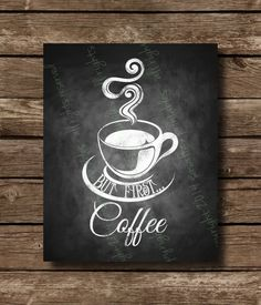 Wake up and smell the coffee chalkboard art white wood mesh frame Coffee Chalkboard, Chalkboard Lettering, Chalkboard Designs, Chalkboard Printable, Coffee Printable, Coffee Art, Coffee Shop, Coffee Time, Palette Deco