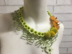 Elle's - delicate necklace - made in class