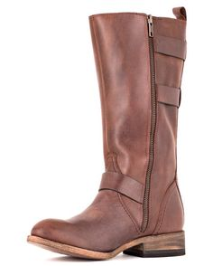 Women's Amelia Cowboy Boot - Chocolate. Want these so bad!!!! Maybe for my first paycheck?