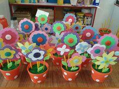 Flores Planter Pots, Flowers