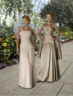 Taffeta One-Shoulder Strap Column Mother of the Bride Dress with Floor- Length Skirt 0e76568c3476