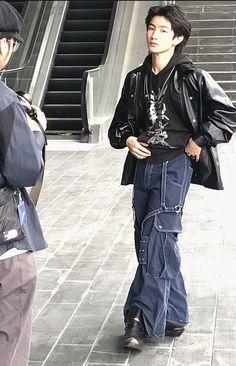 Edgy Outfits, Mode Outfits, Fashion Outfits, Japanese Fashion, Korean Fashion, High Fashion, Grunge, Alternative Outfits, Looks Cool
