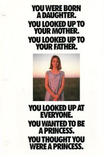 Best Nike ad ever from the 80s - you were born a daughter...