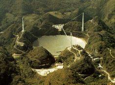 The Arecibo Radio Telescope - Looking for Extraterrestrial Signals
