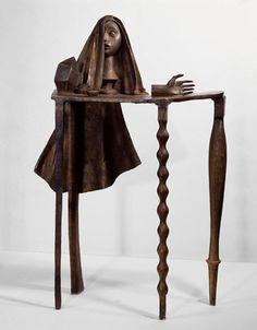 Alberto Giacometti. Surrealist Table (1933).
