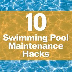 I've put together this list of pool maintenance hacks that you can employ to keep your swimming pool water clean and clear (and warm).