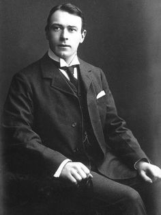 Thomas Andrews - architect of the Titanic and an intelligent, compassionate man…and a stone cold fox! He apparently spent his last hours handing out life vests, helping people get onto lifeboats, and throwing furniture etc overboard as floatation devices for people in the water.