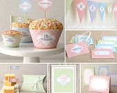 Printable Eid Decorations Pack (Moroccan Delights: Pastel), Digital Download