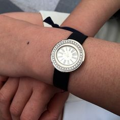 Piaget Possession watch in white gold set with 37 brilliant-cut diamonds. Piaget 157P quartz movement.