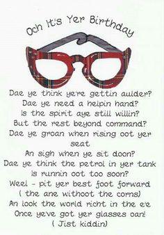 Scottish engagement gifts google search jean pinterest scottish birthday card birthday wisheshappy m4hsunfo
