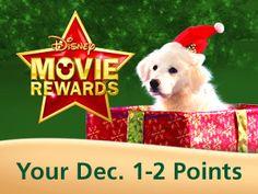 Free Disney Movie Reward Points And 25 Days Of Christmas