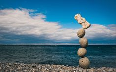 Stone balancing artist Adrian Gray unveils latest work on the Isle of Man Stone Balancing, Balance Art, Rock Artists, Ice Sculptures, Snow And Ice, Isle Of Man, Rock And Roll, The Incredibles, Nature