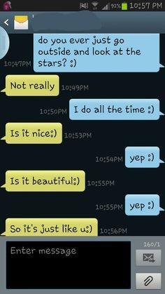 those cute texts >>> :)