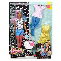 Barbie Fashionistas Doll & Fashions Blue Violet Petite Review