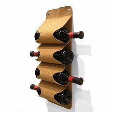 Es genial este botellero de #corcho #preservalobueno
