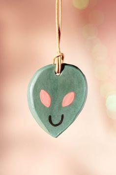 Jarmel By Jarmel X UO Handmade Alien Ornament | Urban Outfitters