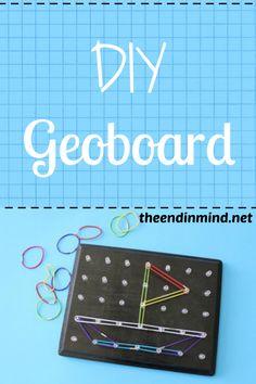 DIY Geoboard - By Jennifer