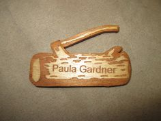 100-090 The Wood Badge Nameplate – Designs by SouthernCharm