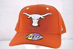 826dbd6ef2c Texas Longhorns Burnt Orange Baseball Cap Fitted 7-1 2  Zephyr  BaseballCap