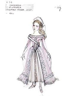 Anastasia (Anastasia). Hartford Stage. Costume design by Linda Cho.