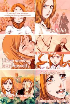 This was so touching it was true but she should have been with Ulquiorra. After all she falls in love with ulquiorra.