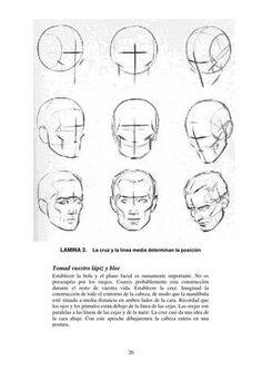 Loomis dibujo de cabeza y manos version en español
