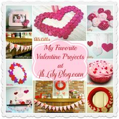 Favorite Valentine Projects at AliLily