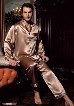 52a0be47d5 8 Best mens silk pajamas images
